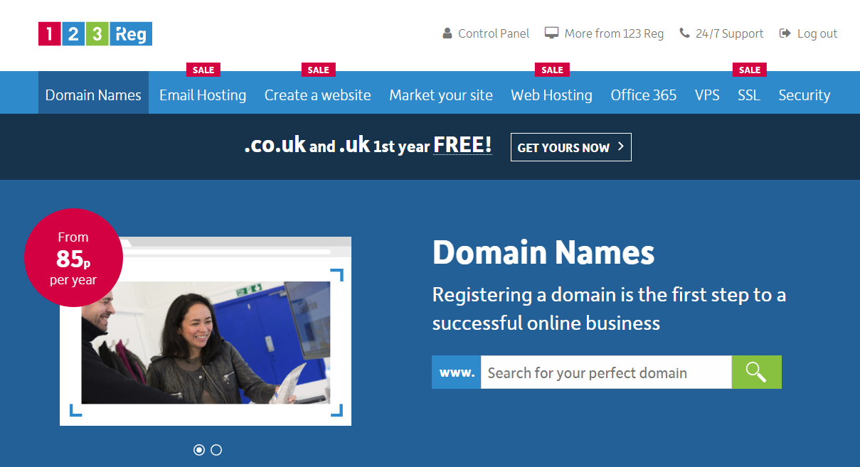 123reg domain flipping